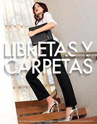 libretas carpetas catálogos