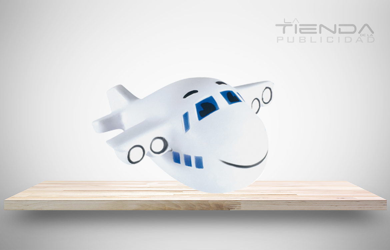 avión antiestrés
