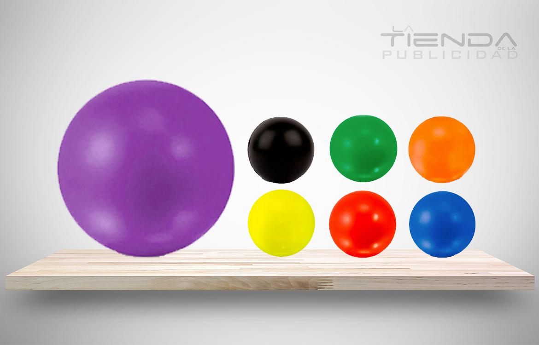 bola antiestrés colores