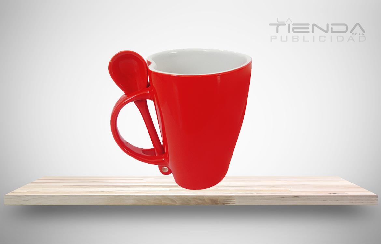 mug taza con cuchara