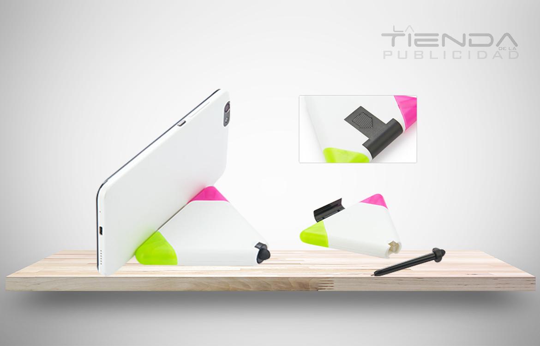 sostenedor celular triángulo