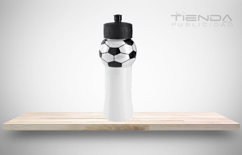 termo plástico balón de fútbol