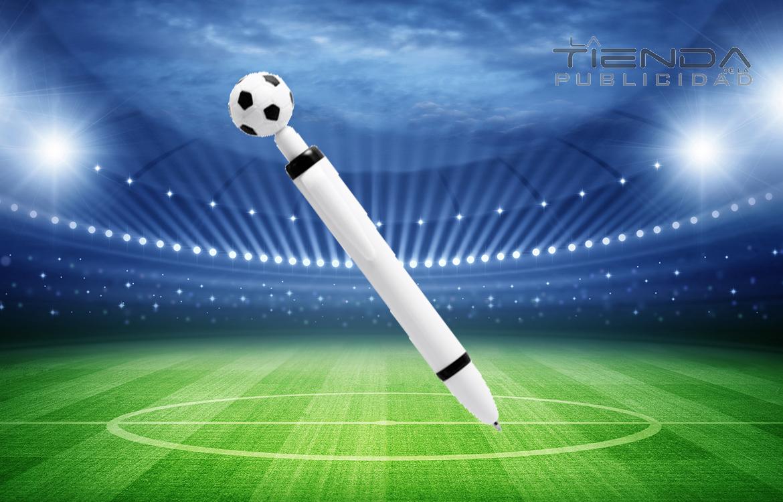 bolígrafo fútbol