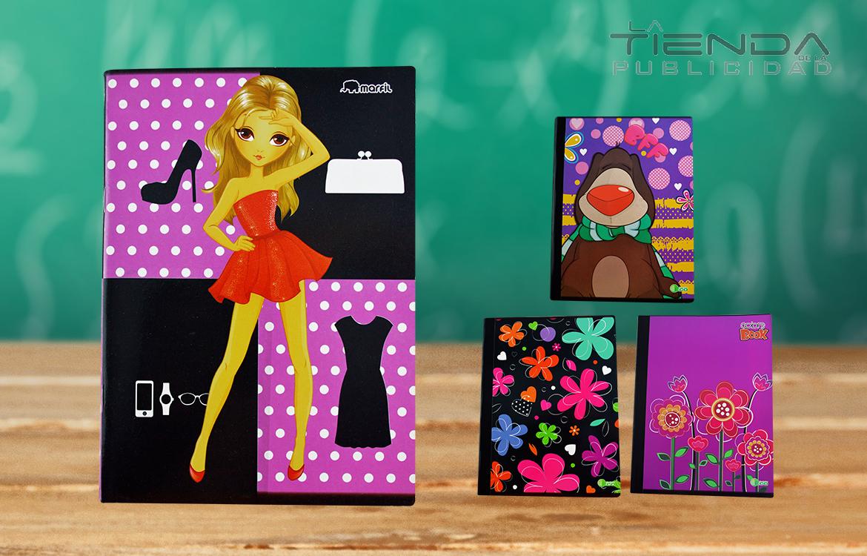 cuadernos niñas