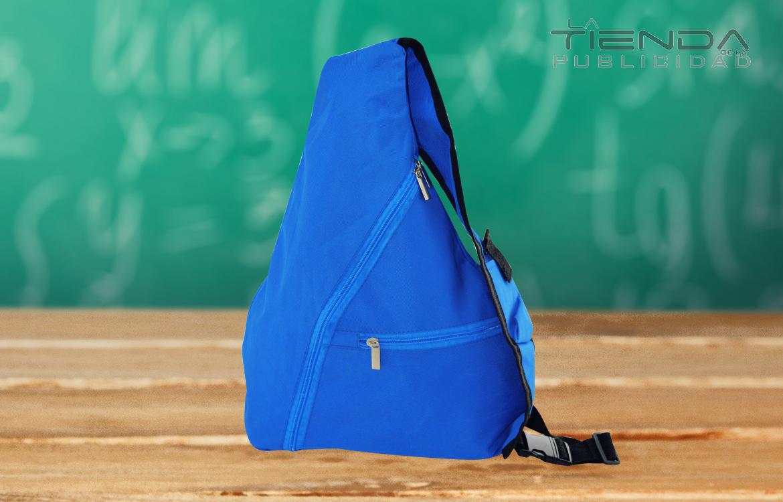 maletín azul