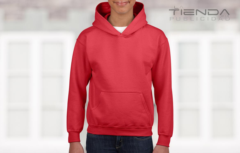 Buso con capucha rojo