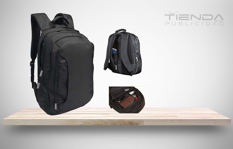 Morral con Bolsa principal con espacio para laptop